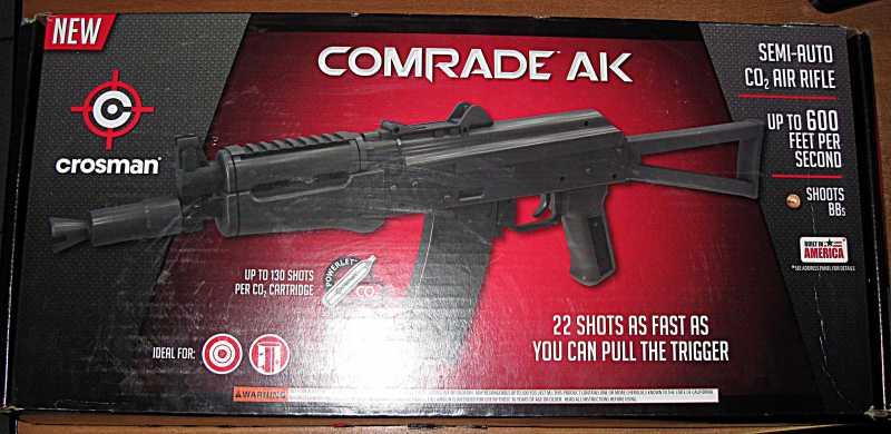 1)Crosman Comrade AK. Противоречивые чувства.