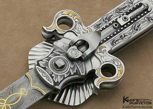 Кнопка фиксатора ножа Левина