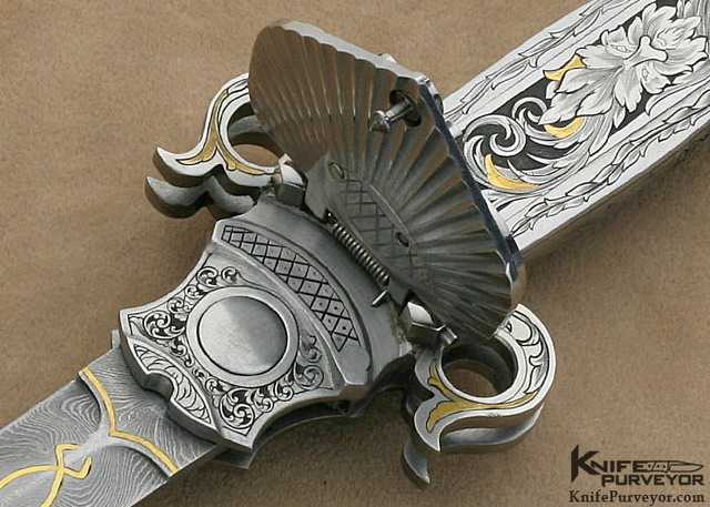 Пластина фиксатора складного ножа Джека Левина