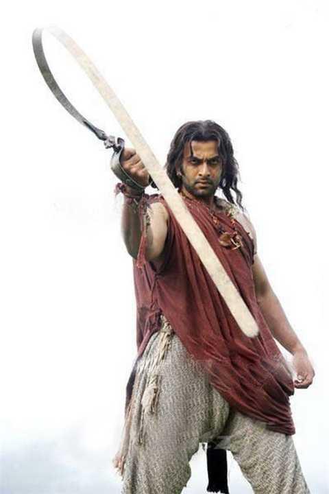 5)Необычное оружие древних. Гибкий меч уруми.