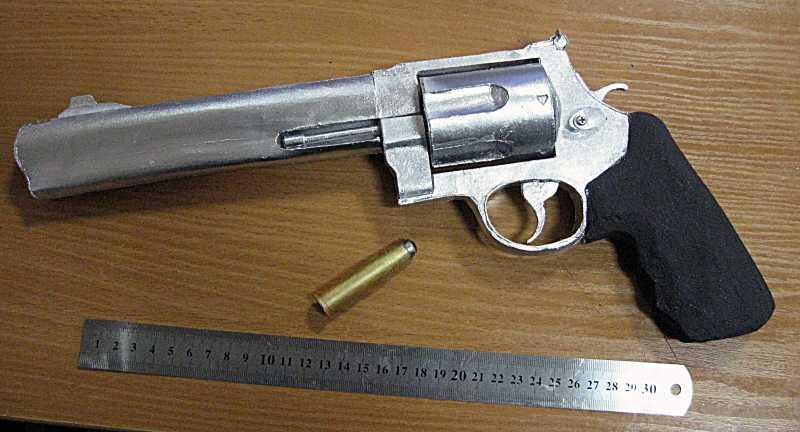 8)Бумажный пистолет