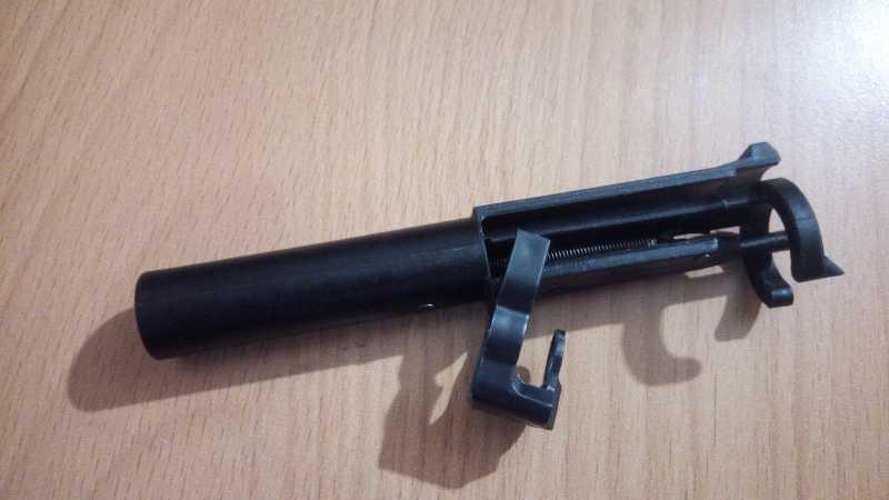 6)Пневматический пистолет МР-655К (пистолет Ярыгина)