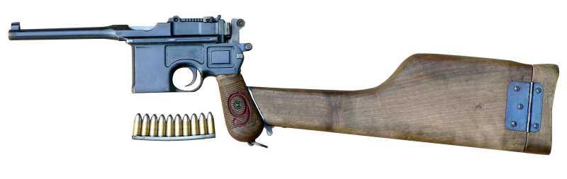 13)Ваше слово, товарищ Маузер! (пневматический пистолет)