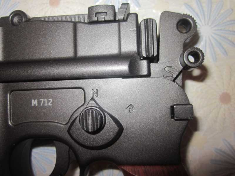 22)Ваше слово, товарищ Маузер! (пневматический пистолет)