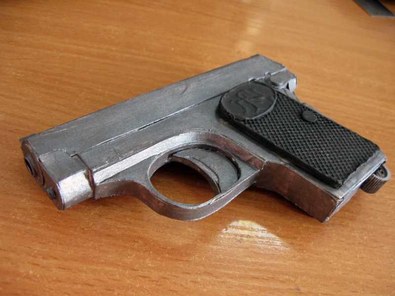7)Бумажный пистолет
