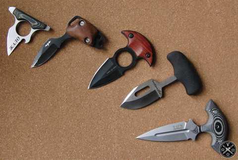 Ножи тычкового типа
