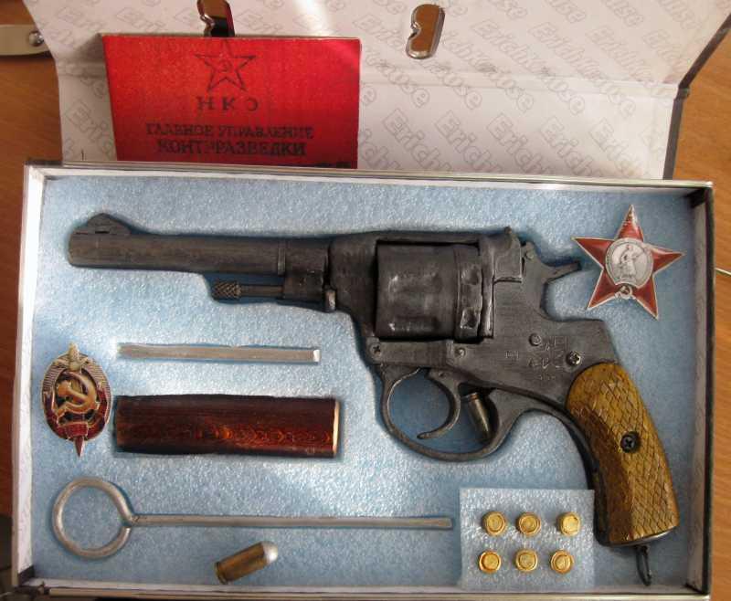 13)Бумажный пистолет