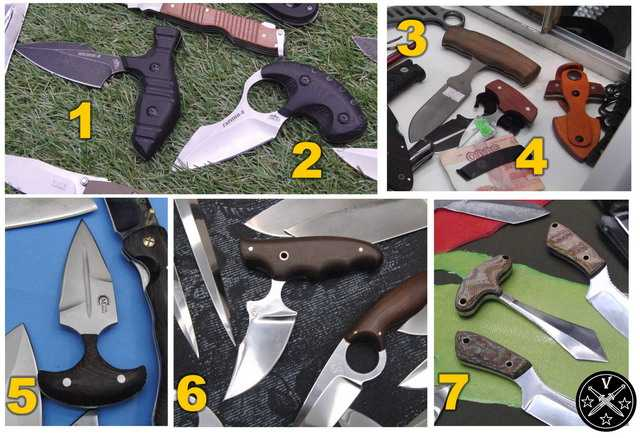 Тычковые ножи на выставке Арсенал 2015