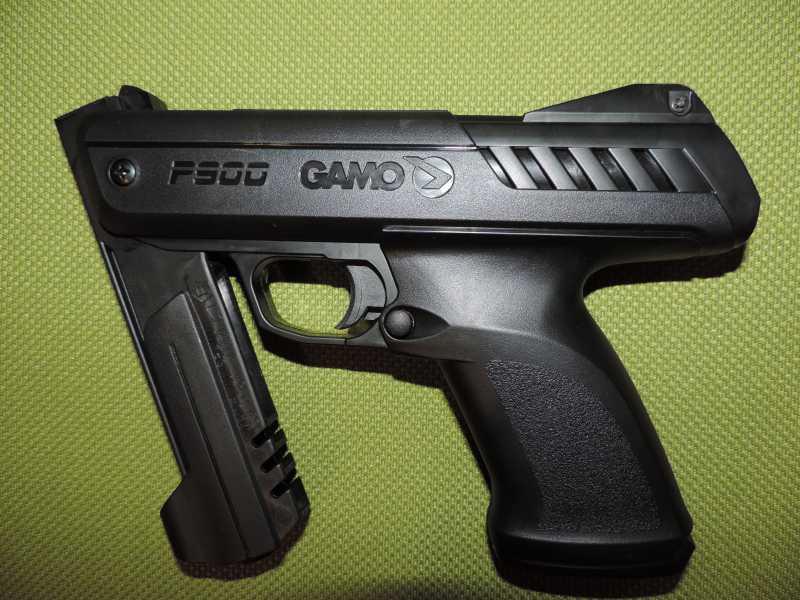 7)Обзор - Тест Gletcher SW R4 silver и Gamo P-900.