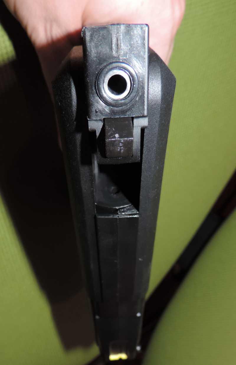 9)Обзор - Тест Gletcher SW R4 silver и Gamo P-900.