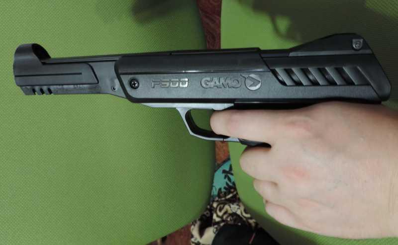 14)Обзор - Тест Gletcher SW R4 silver и Gamo P-900.