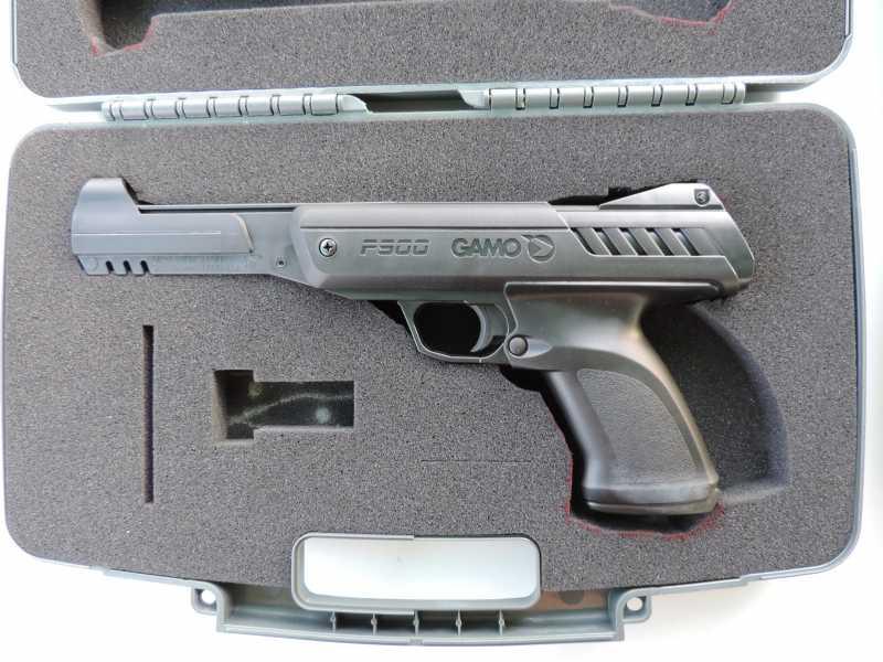 19)Обзор - Тест Gletcher SW R4 silver и Gamo P-900.