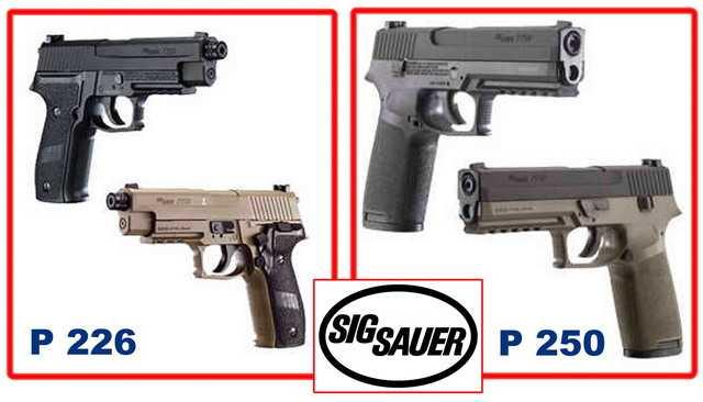Новые пневматические пистолеты оружейной компании Зиг Зауэр