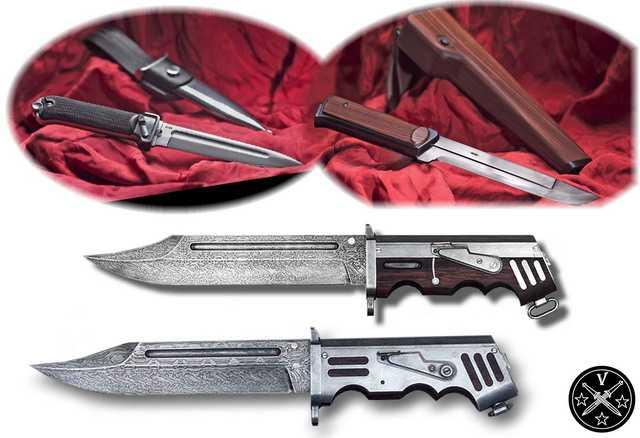 Ножи в пистолетном дизайне