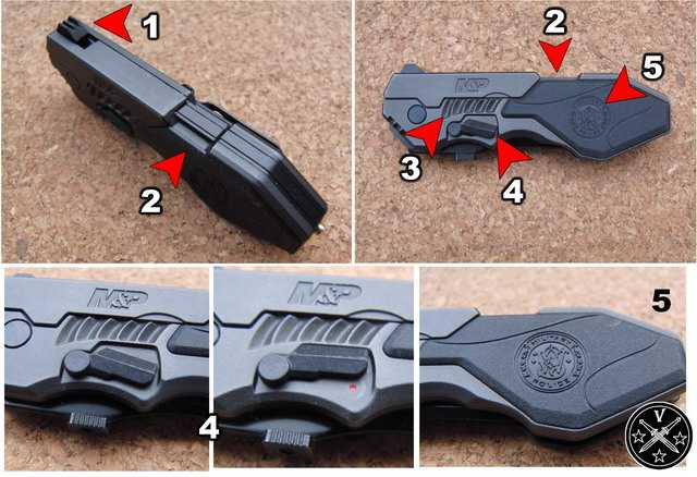 Пистолетный дизайн