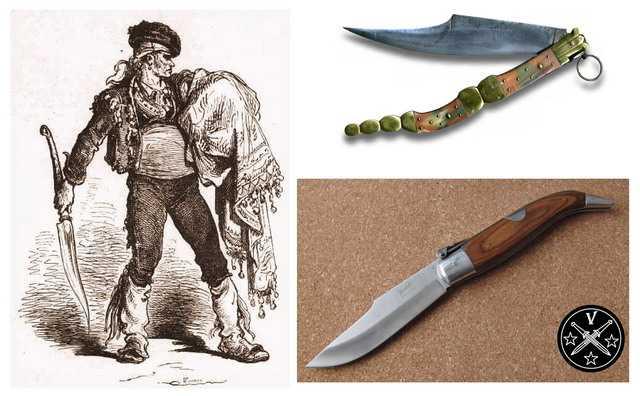 Инпаские боевые складные ножи наваха