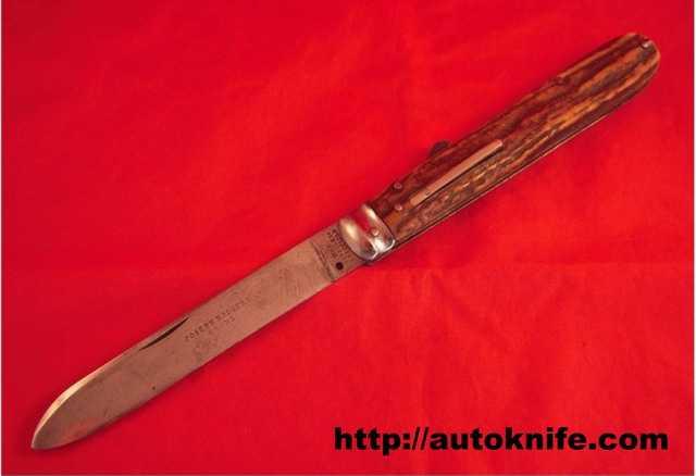 Автоматическмй пружинный нож из Шеффилда