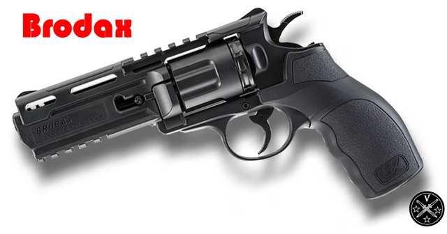 Новый пневматический револьвер Umarex - Brodax