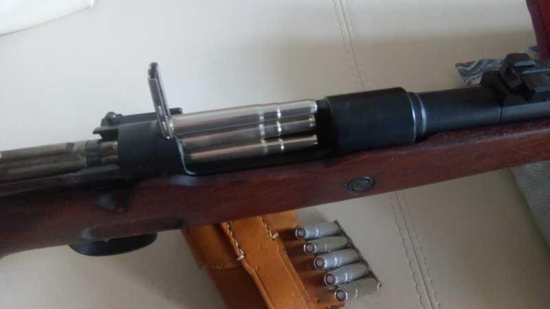6)MAUSER K98K   (газовая).
