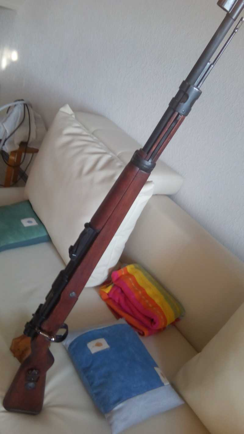 62)MAUSER K98K   (газовая).
