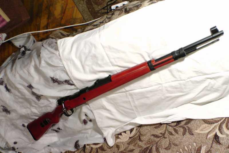63)MAUSER K98K   (газовая).