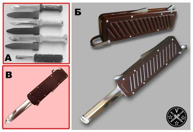 Советские ножи стропорезы