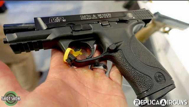 Новый пневматический пистолет Umarex S&W MP Blowback
