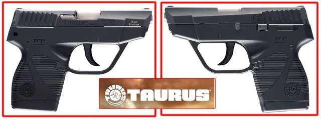 Компактный пистолет скоытого ношения Taurus TCP