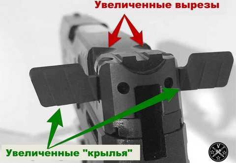 Модифицированная модель Тауруса с крылышками-ушами