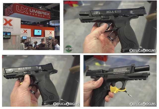 Презентация нового пневматического пистолета