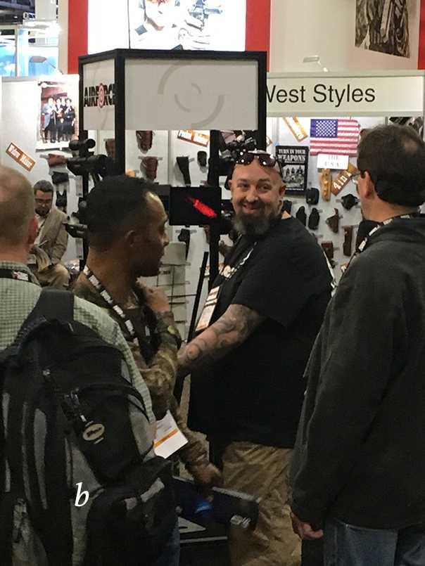 2)38 ежегодная выставка оружия Shot Show в Лас-Вегасе, штат Невада (часть 5)