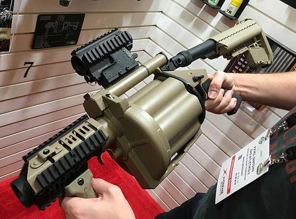7)38 ежегодная выставка оружия Shot Show в Лас-Вегасе, штат Невада (часть 5)