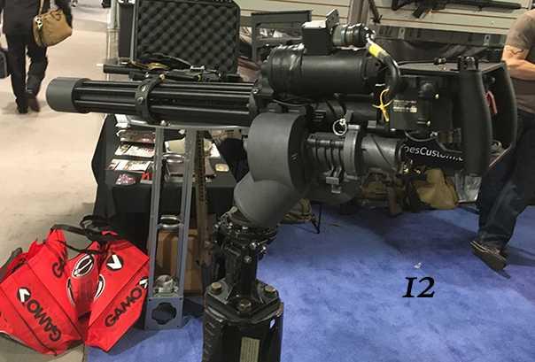 12)38 ежегодная выставка оружия Shot Show в Лас-Вегасе, штат Невада (часть 6)