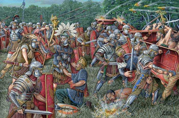 6)Гладиус - оружие легионера.