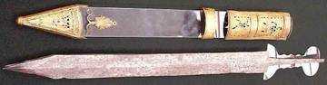 10)Гладиус - оружие легионера.