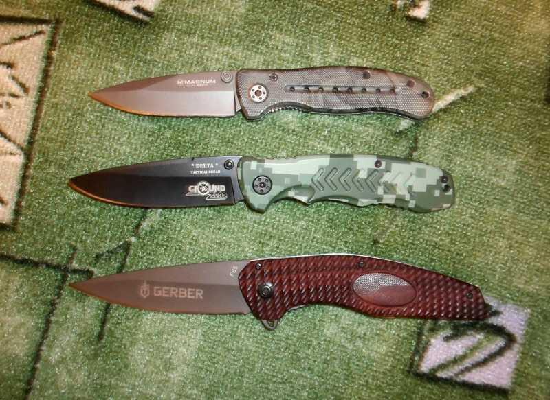 14)F65 или Нож от Медведя.