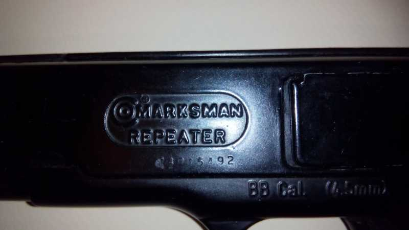 2)Пружинно-поршневой пистолет Marksman 1010