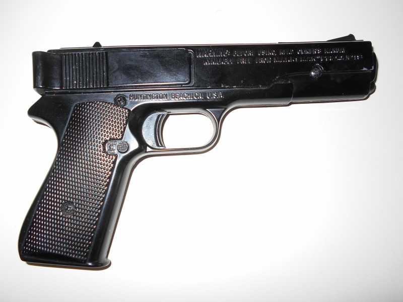3)Пружинно-поршневой пистолет Marksman 1010