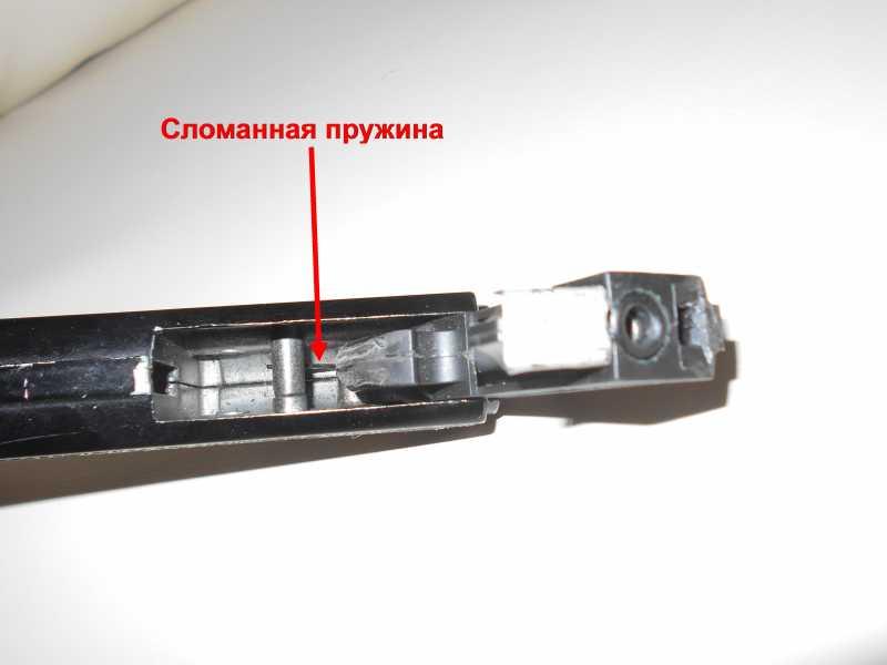 21)Пружинно-поршневой пистолет Marksman 1010