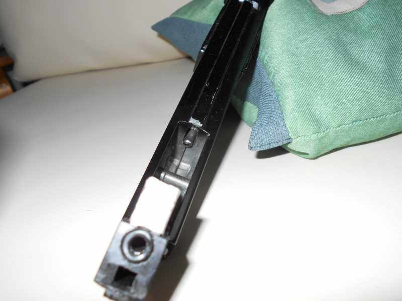 22)Пружинно-поршневой пистолет Marksman 1010