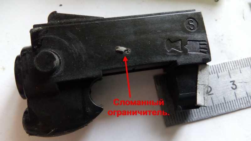 37)Пружинно-поршневой пистолет Marksman 1010