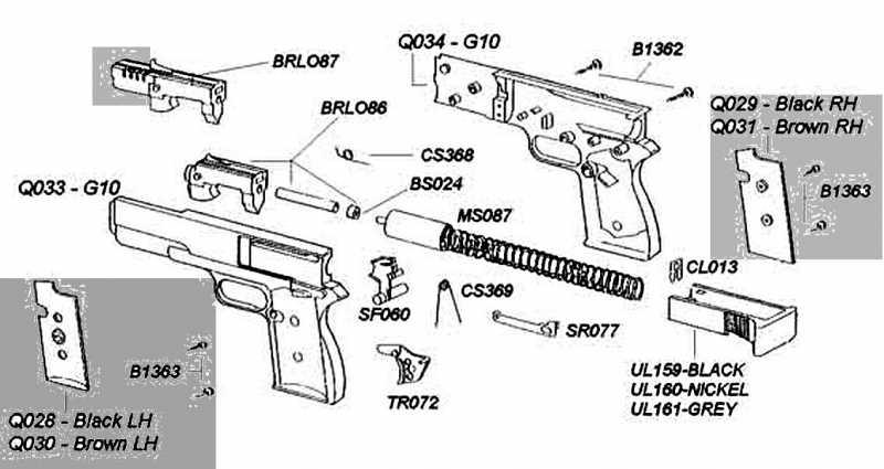 41)Пружинно-поршневой пистолет Marksman 1010