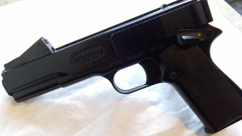 44)Пружинно-поршневой пистолет Marksman 1010