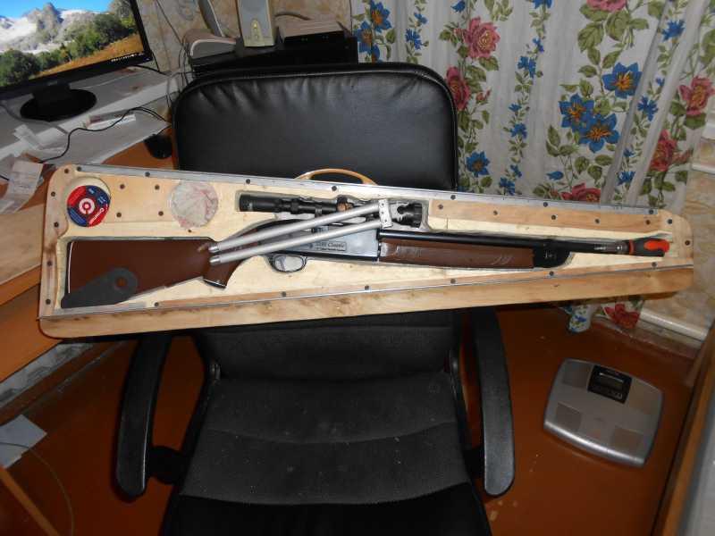2)Кейс для винтовки Crosman-2100B