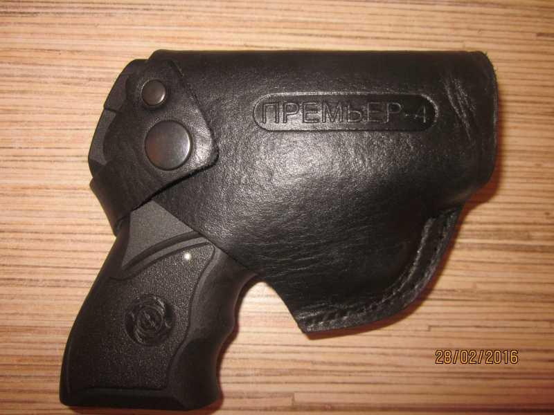 31)Обзор газового пистолета «Премьер-4».