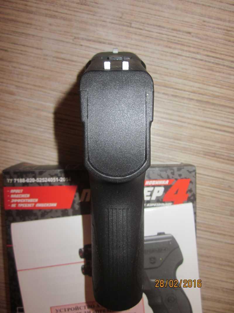 27)Обзор газового пистолета «Премьер-4».