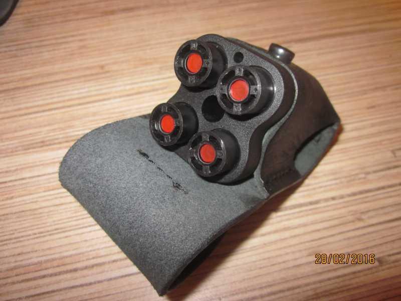 29)Обзор газового пистолета «Премьер-4».