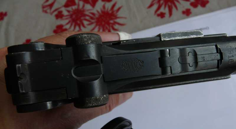 4)Огнестрельный Р08 (артиллерист)