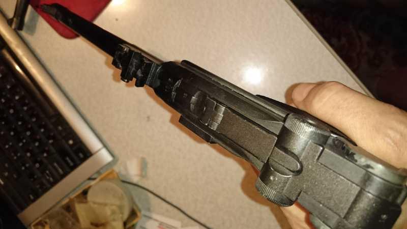 8)Огнестрельный Р08 (артиллерист)