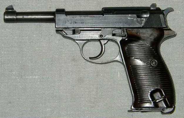2)огнестрельный и легендарный пистолет 3-его рейха р 38